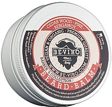 Parfumuri și produse cosmetice Balsam pentru barbă - Be-Viro Beard Balm Cedar Wood Pine Bergamot