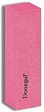Parfumuri și produse cosmetice Buffer pentru unghii, 9164, roz - Donegal Blok 120