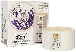 Parfumuri și produse cosmetice Lumânare parfumată - House of Glam Virgin Lavender Candle