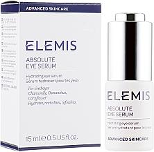 Parfumuri și produse cosmetice Ser de ochi pentru corectarea ridurilor - Elemis Advanced Skincare Absolute Eye Serum