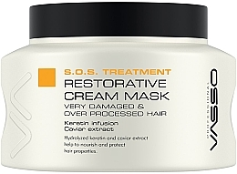 Parfumuri și produse cosmetice Mască regenerantă pentru păr - Vasso Professional Restorative Cream Mask