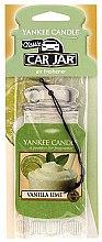 Parfumuri și produse cosmetice Ароматизатор для автомобиля - Yankee Candle Car Jar Vanilla Lime