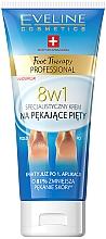 Parfumuri și produse cosmetice Крем для потрескавшихся пяток 8in1 - Eveline Cosmetics Foot Therapy Professional