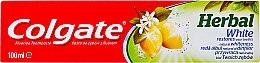 Parfumuri și produse cosmetice Pasta de dinți pentru albire - Colgate Herbal White With Lemon Oil