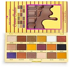 Parfumuri și produse cosmetice Paletă farduri de ochi - I Heart Revolution Eyeshadow Chocolate Palette Creme Brulee
