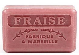 """Parfumuri și produse cosmetice Săpun de Marsilia """"Căpșună"""" - Foufour Savonnette Marseillaise Fraise"""