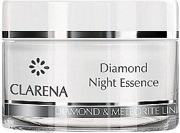Parfumuri și produse cosmetice Esență-cremă perlată de noapte - Clarena Anti Age De LUX Line Diamond Night Essence