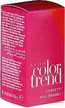 Parfumuri și produse cosmetice Lac de unghii - Avon Color Trend Confetti