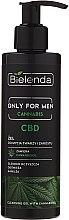 Parfumuri și produse cosmetice Gel de curățare pentru față - Bielenda Only For Men Cleansing Gel With Cannabidiol