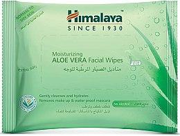 Parfumuri și produse cosmetice Șervețele hidratante faciale cu Aloe Vera - Himalaya Moisturizing Aloe Vera Facial Wipes