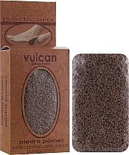 Parfumuri și produse cosmetice Пемза, 84x44x32мм, Terracotta Brown - Vulcan Pumice Stone