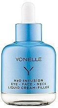 Parfumuri și produse cosmetice Cremă antirid pentru zona ochilor - Yonelle H2O Infusion Eye Face Neck Liquid Cream Filler