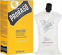 Parfumuri și produse cosmetice Cremă de ras - Proraso Wood and Spice Shaving Cream