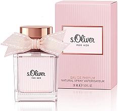 Parfumuri și produse cosmetice S.Oliver For Her - Apă de parfum