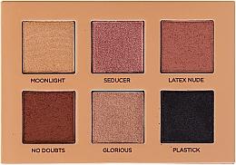 Paletă de farduri de ochi - Nabla Cutie Collection Palette Nude — Imagine N3