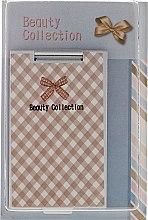 Parfumuri și produse cosmetice Oglindă cosmetică 85574, carouri - Top Choice Beauty Collection Mirror