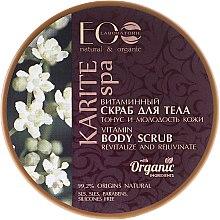 "Parfumuri și produse cosmetice Scrub cu vitamine pentru corp ""Tinerețea pielii"" - ECO Laboratorie Karite SPA Body Scrub"