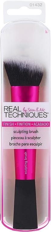 Pensula Machiaj Pentru Fond de Ten - Real Techniques Sculpting Brush