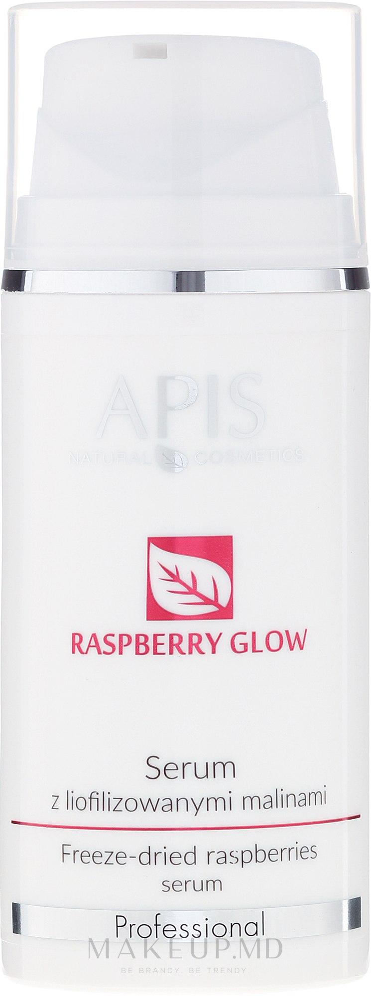 Ser de față cu zmeură uscată - APIS Professional Raspberry Glow — Imagine 100 ml