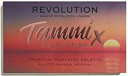 Parfumuri și produse cosmetice Paletă farduri de ochi - Makeup Revolution X Tammi Tropical Paradise Palette