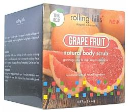 """Parfumuri și produse cosmetice Scrub pentru corp """"Grapefruit"""" - Rolling Hills Gommage Corps Naturel"""