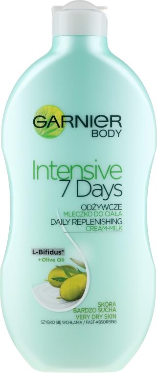 "Молочко для тела ""Оливка"" - Garnier Body Hydration 7 Days Body Milk"