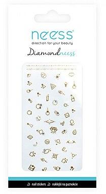 Наклейки для дизайна ногтей, 3711 - Neess Diamondneess — фото N1
