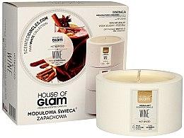 Parfumuri și produse cosmetice Lumânare parfumată - House of Glam Hot Spiced Wine Candle