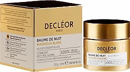 Parfumuri și produse cosmetice Balsam de noapte pentru față - Decleor Aromessence Magnolia Youthful Night Balm
