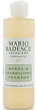 Parfumuri și produse cosmetice Șampon pentru toate tipurile de păr - Mario Badescu Henna & Seamollient Shampoo