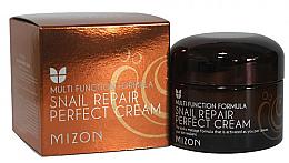 Parfumuri și produse cosmetice Crema nutritivă cu extract de melc - Mizon Snail Repair Perfect Cream