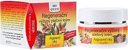 Parfumuri și produse cosmetice Cremă de față - Bione Cosmetics Argan Oil Regenerating Nourishing Facial Cream