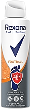 Parfumuri și produse cosmetice Spray pentru picioare - Rexona Football Spray