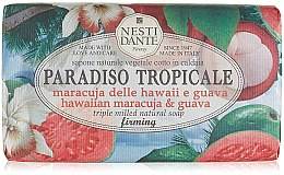 """Parfumuri și produse cosmetice Săpun """"Fructul pasiunii și guava"""" - Nesti Dante Paradiso Tropicale Hawaiian Maracuja & Guava Soap"""