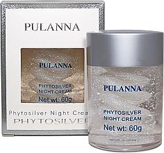 Parfumuri și produse cosmetice Cremă de noapte pentru față, pe bază de argint - Pulanna Phytosilver Night Cream