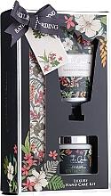 Parfumuri și produse cosmetice Set pentru îngrijirea mâinilor - Baylis & Harding Royal Garden Collection Set (h/cr/50ml + salt/70g + nail/file/1)