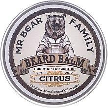 Parfumuri și produse cosmetice Balsam pentru barbă - Mr. Bear Family Beard Balm Citrus
