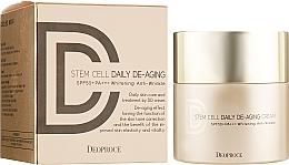 Parfumuri și produse cosmetice DD cremă anti-îmbătrânire cu protecție solară - Deoproce Stem Cell Daily-aging Cream