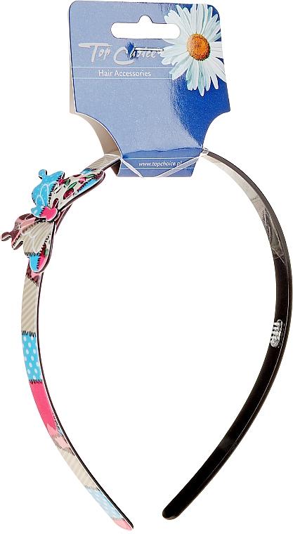 Cerc pentru păr cu fluturaș, multicolor - Top Choice