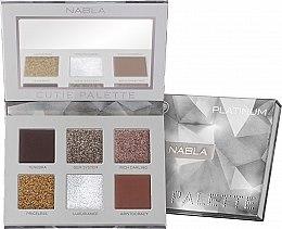 Parfumuri și produse cosmetice Paletă fard de pleoape - Nabla Cutie Collection Palette Platinum
