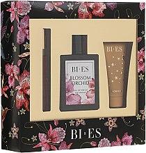 Parfumuri și produse cosmetice Bi-Es Blossom Orchid - Set (edp/100ml + sg/gel/50ml + parfum/12ml)