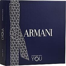 Parfumuri și produse cosmetice Giorgio Armani Emporio Armani Stronger With You - Set (edt/100ml + edt/mini/15ml + sh/gel 75ml)