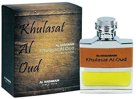 Al Haramain Khulasat Al Oud - Apă de parfum