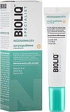 Parfumuri și produse cosmetice Ser-Corector pentru față - Bioliq Specialist Anti-acne Serum With Concealer
