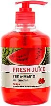 """Parfumuri și produse cosmetice Săpun-gel cu glicerină """"Pepene verde"""" - Fresh Juice Watermelon"""