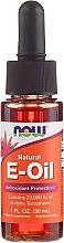 "Parfumuri și produse cosmetice Ulei ""Vitamina E"" - Now Foods Oil"