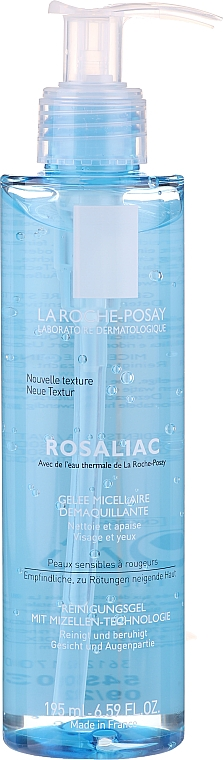 Gel micelar pentru față și pleoape - La Roche-Posay Rosaliac Micellar Make-Up Removal Gel