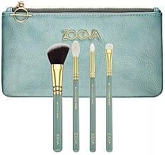 Parfumuri și produse cosmetice Set pensule pentru machiaj, 4 bucăți - Zoeva Offline Brush Set