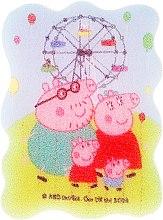 """Parfumuri și produse cosmetice Burete de baie pentru copii """"Peppa Pig"""", parc de distracții - Suavipiel Peppa Pig Bath Sponge"""