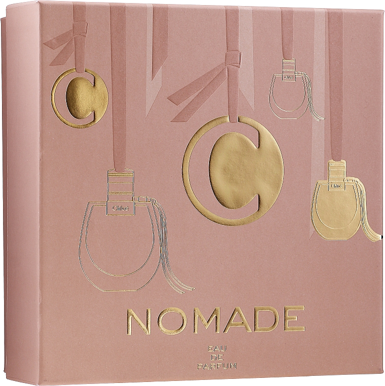 Chloe Nomade - Set (edp/75ml + b/lot/100ml + edp/mini/5ml)